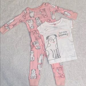 Infant Carter's Pajamas, size 6 months